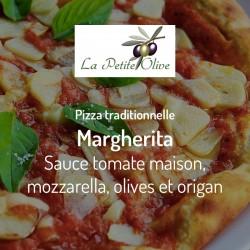 Pizza Margherita La Petite Olive