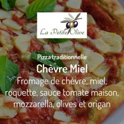 Pizza Chèvre Miel La Petite Olive