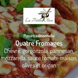 Pizza Quatre Fromages La Petite Olive