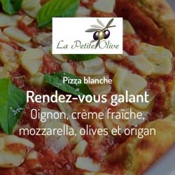 Pizza Rendez-vous galant La Petite Olive