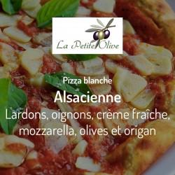 Pizza Alsacienne La Petite Olive
