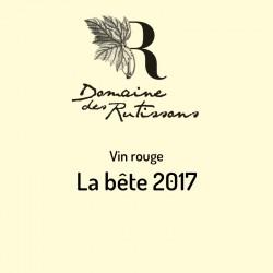 Vin rouge La bête 2017