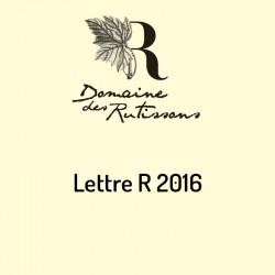 Vin Lettre R 2016