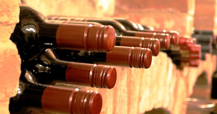Bouteilles de vin Le Touvet
