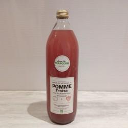 Jus de pomme / fraise bio 1L