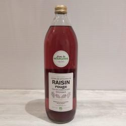 Jus de raisin rouge bio 1L