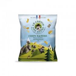Chips natures Le crétin des...