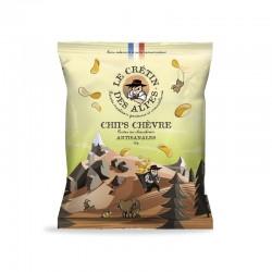 Chips chèvre Le crétin des...