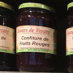 Confiture de fruits rouges...