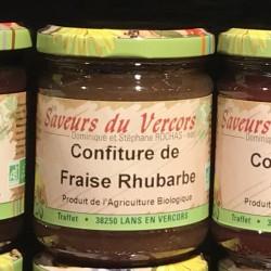 Confiture fraise rhubarbe...