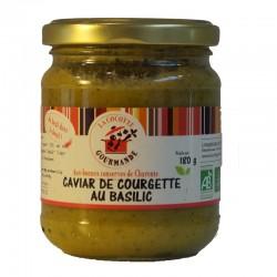 Caviar de courgettes au...