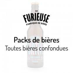Packs de bières La Furieuse